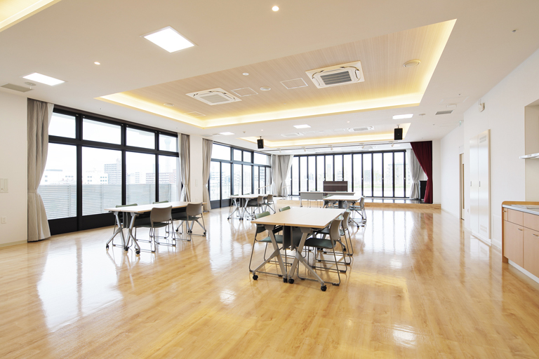 5階防災拠点型地域交流スペース